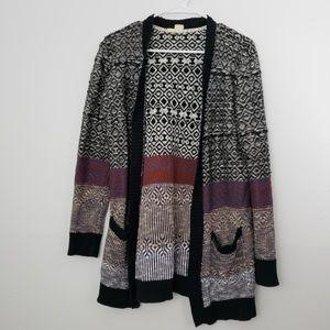 Roxy Chunky Oversized Cardigan Sweater